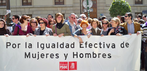 Manifestación Dia de la Mujer - 8 marzo 2009