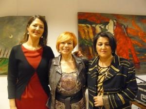 Con las premiadas, Carmen y Lola